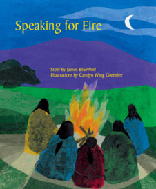 Speaking for Fire - front cover