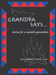 Grandpa Says... - front cover