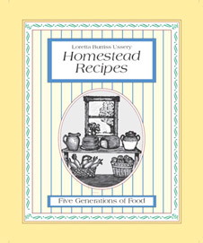 Homestead Recipes - front cover