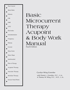 Basic Microcurrnet Therapy Manual - front cover