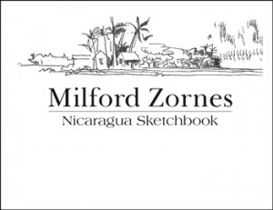 Milford Zornes - Nicaragua Sketchbook - front cover
