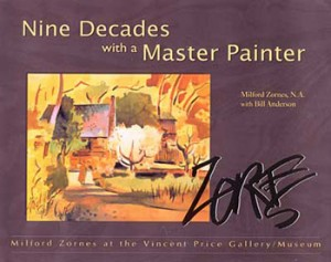 Milford Zornes - NIne Decades with a Master Painter - front cover
