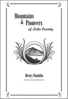 Mountains and Pioneers of Lake County - front cover