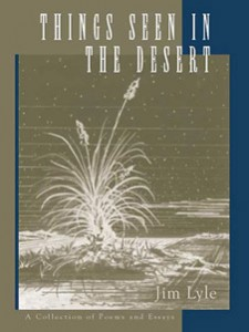 Things Seen In The Desert - front cover